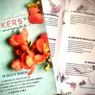 Seekers Magazine trimestrale primavera